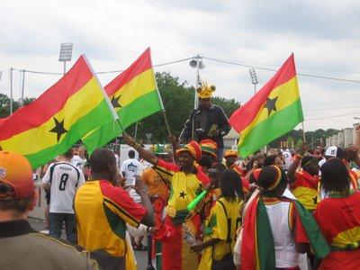 WC Nurnberg - Ghana v USA 2