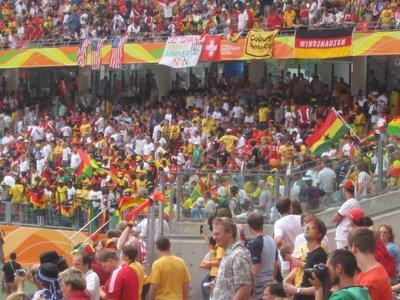 WC Nurnberg - Ghana v USA 6
