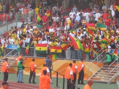 WC Nurnberg - Ghana v USA 9
