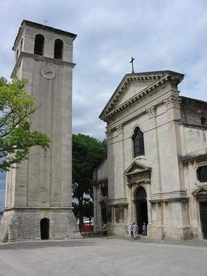 Pula, Church and Tower