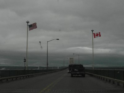 International Bridge at Sault Ste. Marie