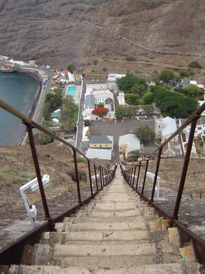 Jacobs Ladder - Looking down from the top