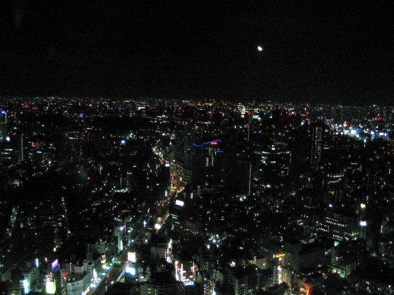 Tokyo - Night view from Roppongi Hills 1