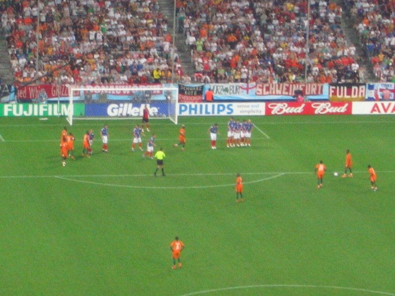 WC Munich - Serbia-Montenegero v Cote d'Ivoire 3