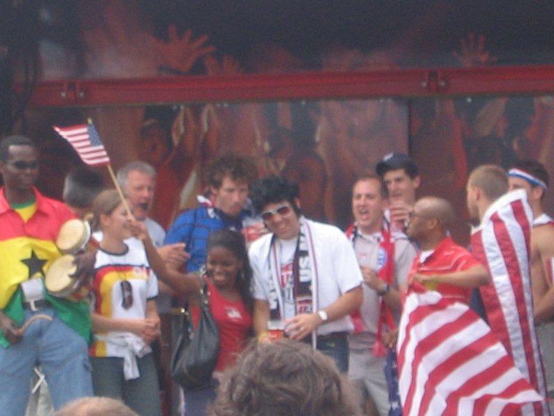 WC Nurnberg - Ghana v USA 3