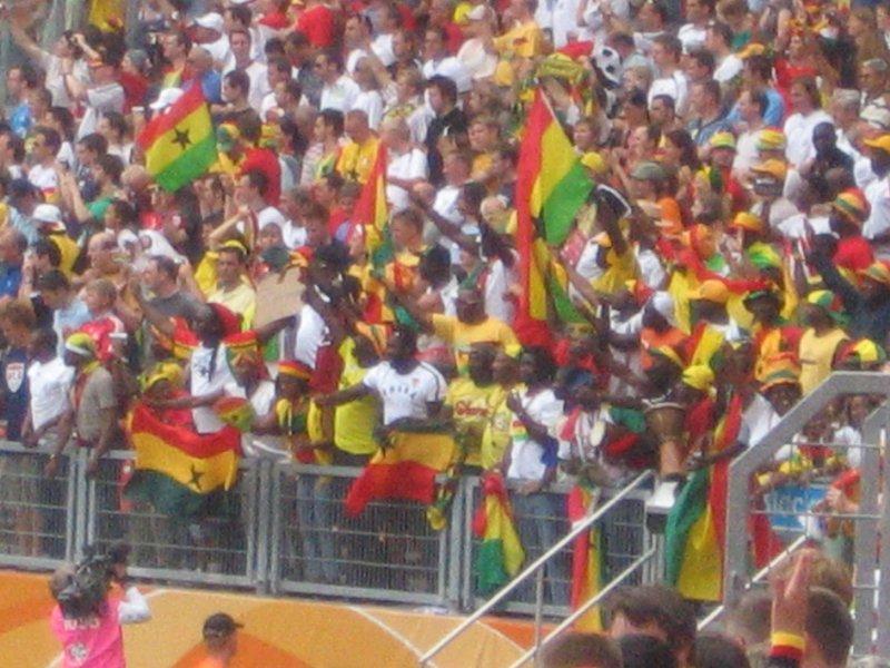 WC Nurnberg - Ghana v USA 7