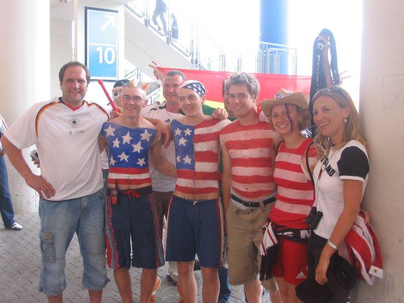 WC Nurnberg - Ghana v USA 10