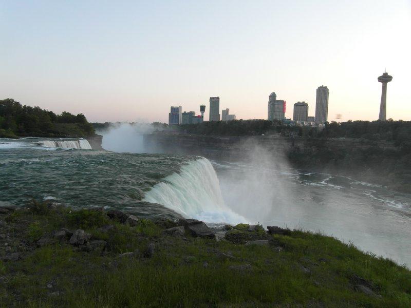 Niagara Falls from the American side