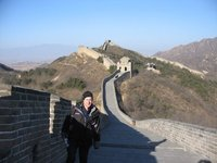 Badaling Great Wall - Me on the wall, Christmas Day