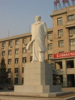 Beijing - Chairman Mao outside the Agricultural University
