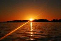 Sunset over Lake Kariba 1