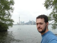 Toronto from islands