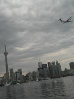 Toronto from ferry from island