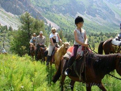 Horse Ridding in Kyrgyzstan