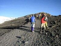 So close, yet so far!Stella Point to Uhuru Peak - Mt. Kilimanjaro