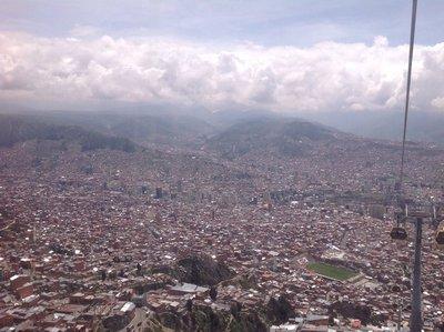 View of La Paz