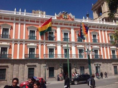 President Morales' House
