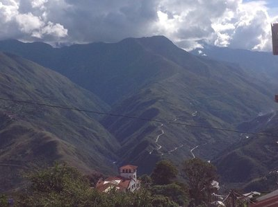 View from Coroico