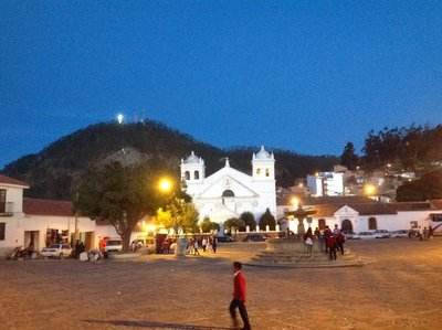 A square in sucre