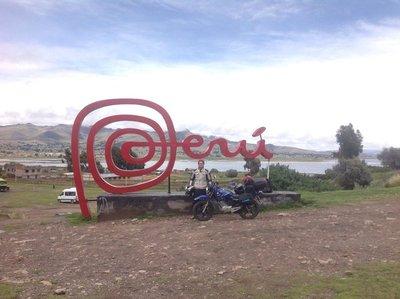 Peru/Bolivia border