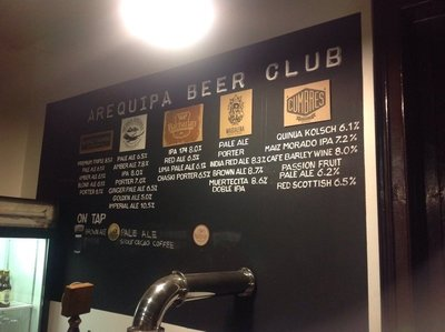 Arequipa Beer Club