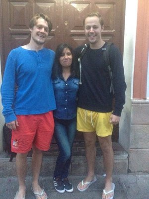 Us and our amazing Spanish teacher