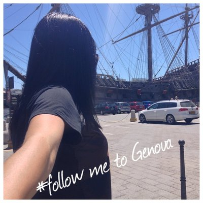 Follow me to Genoa