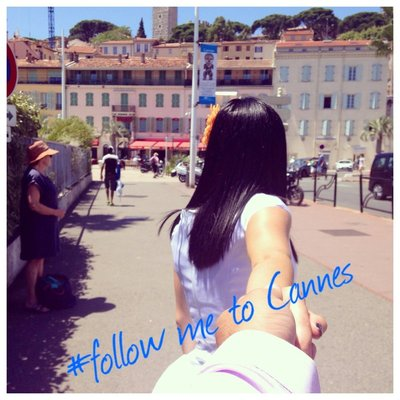Follow me to Cannes