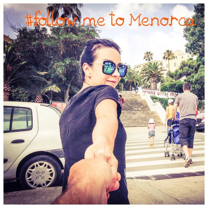 Follow me to Menorca