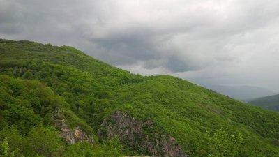 Mountains around Glozhene Monastery