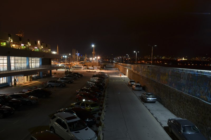 car parking at night