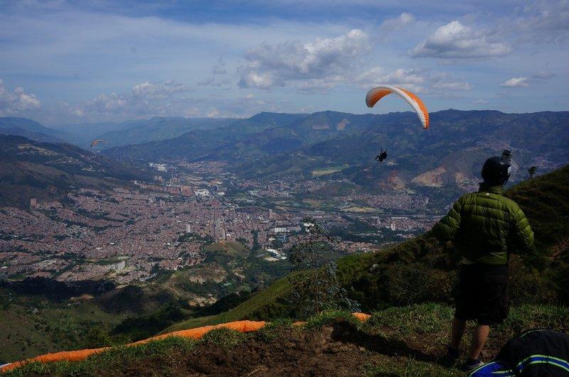 San Felix take-off