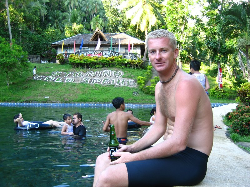 Sander in Cold springs Camiguin
