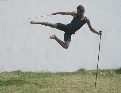 Emmanuel Buriez kick with sticks