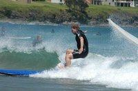 Surfing med fall