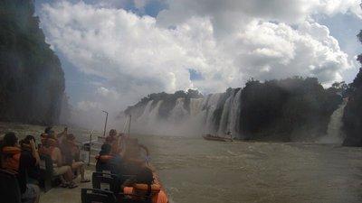Las hermosas Cataratas del Iguazu