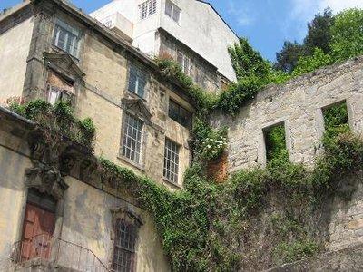 Buildings alond the Douro river, porto
