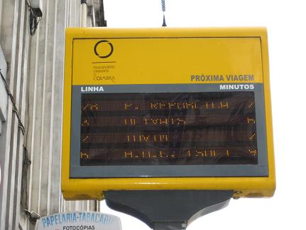 Bus Timetable.