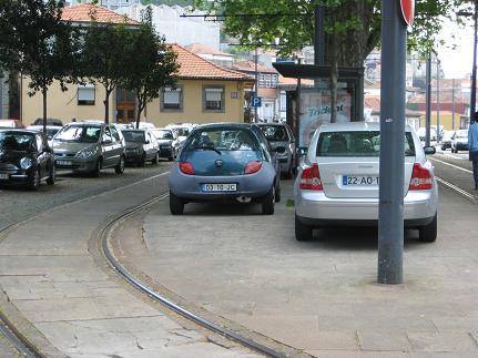 Portuguese Parking Lot