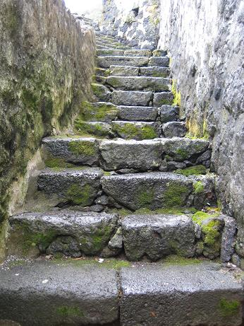 Stairs along Lajes do Pico