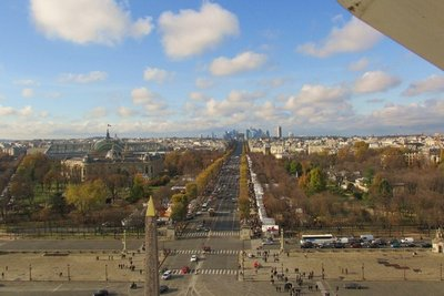 View from La Grande Roue