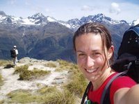 On top of the world..well the Routeburn track..