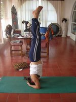 My first ever headstand