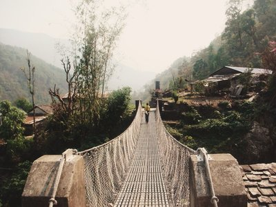 Bridge to the Guesthouse