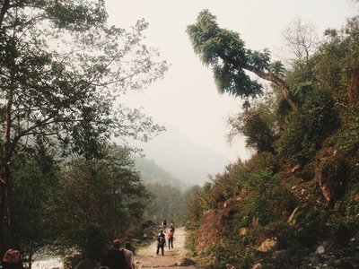 Walk to Birethanti