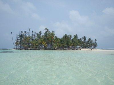 Corto and an island
