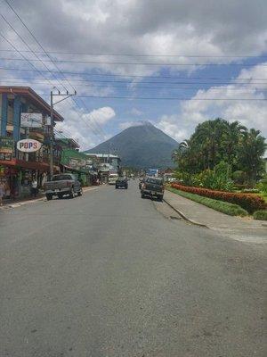Downtown La Fortuna