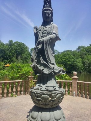Buddha By Lake