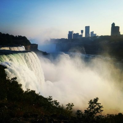 Niagara dusk