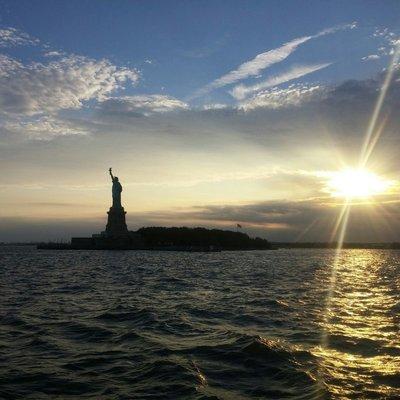 Lady Liberty Twililght